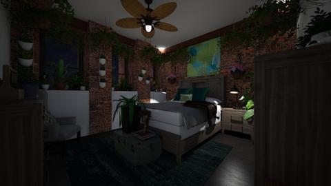 Eden in the City Night 3 - Bedroom  - by SammyJPili