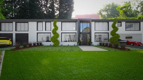 Modern corner - Garden  - by flacazarataca_1