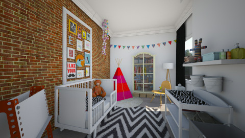 my eclectic baby room - Kids room  - by Dibiduu