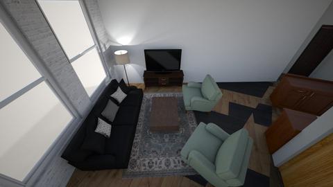 New apt 1 - Living room  - by eeellis14
