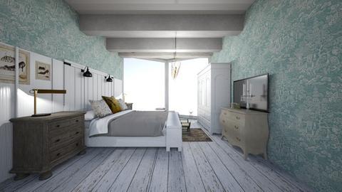 camera obliqua - Bedroom  - by Irene Zanetti