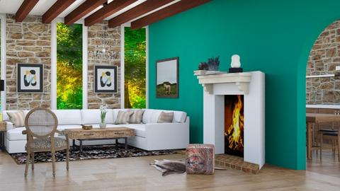Mexican lounge remix - Living room  - by Doraisthe_nameofmydoggo12345