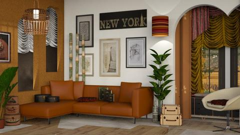City Relaxation - Modern - Living room  - by Gurns