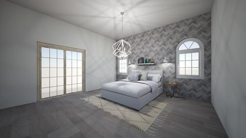modern cozy master - Bedroom - by slm4278