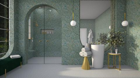 _ArtDeco - Bathroom  - by djoleitaca