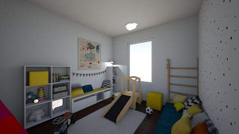 london home - Kids room - by zozan