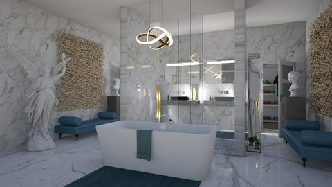 Marble Bathroom - Eclectic - Bathroom  - by jjp513
