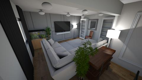 Test Living Dining v2 - Living room - by johnekates