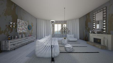 renovation in progress - Eclectic - Living room  - by kitty