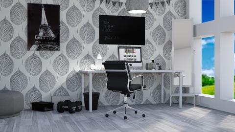 Swirl - Modern - Office - by kiki1209