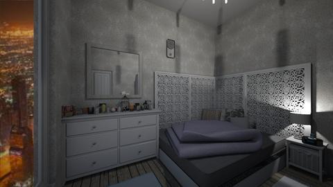 DA NY - Bedroom  - by 987123maria