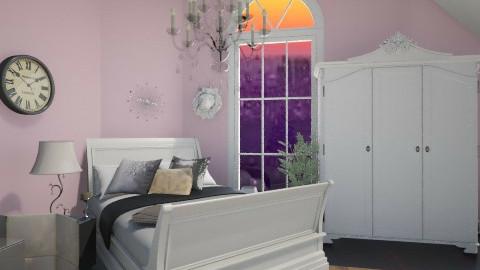Elegant loft - Rustic - Bedroom  - by Jade w