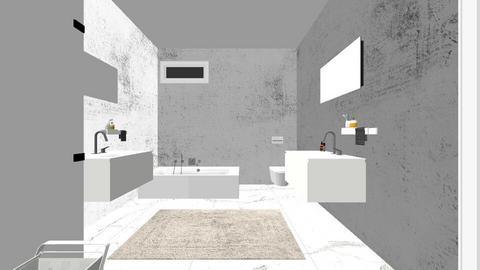 Badkamer 3 - Bathroom  - by astriddemeure