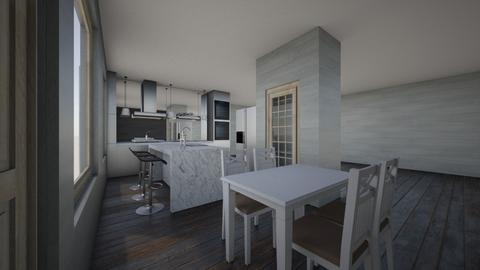 Principle Kitchen Plan - Modern - Kitchen  - by jacobsanders24