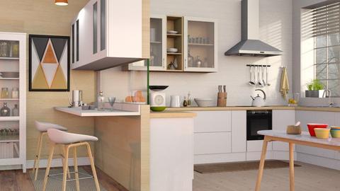 Mid Century Kitchen - Modern - Kitchen  - by Sally Simpson