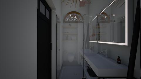 Nature_guests bathroom - Bathroom  - by lovasemoke