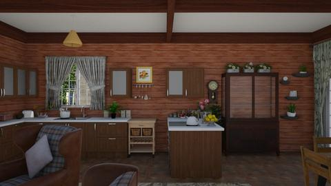 kitchen country old - Kitchen - by GALE88