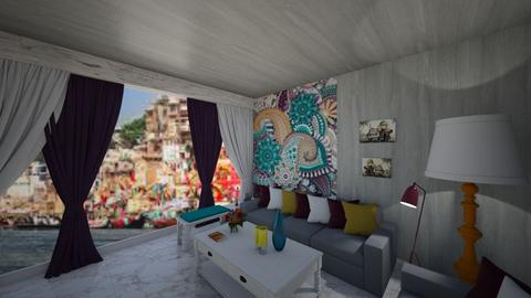 indian lvr - Living room  - by home peachome