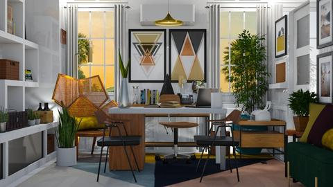 ECLECTIC WORKSPACE - Office  - by KC Pechangco