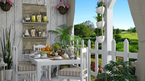 Design 203 Country Cottage Patio - Garden - by Daisy320