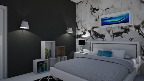 Quarto Monocromatico - Modern - Bedroom  - by Nessayuna