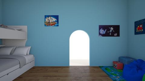 Twin boys room - Modern - Kids room  - by kerrimcsorleyy