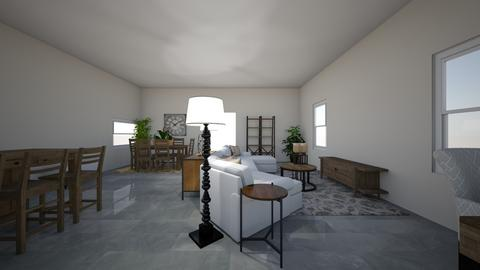 Stockhaus Great Room - Living room - by Mittemiller