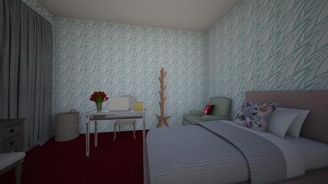 Alissa future room - Modern - Bedroom  - by Alissa669