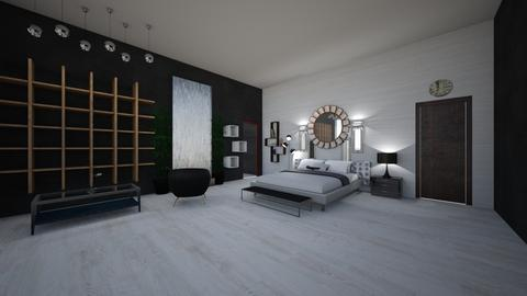 condo - Modern - Bedroom  - by FAUXSWAN