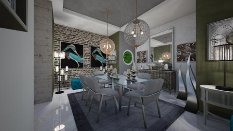 Dinning  - Modern - Dining room  - by Nikos Tsokos