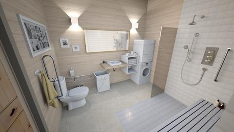 Accessible Suite Bathroom - by luna smith