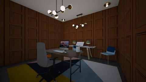 mansion his study - Classic - Office - by cinderella1111