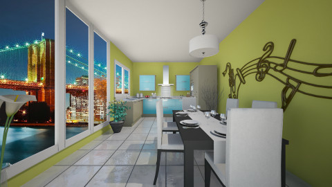 modern - Modern - Kitchen  - by Navnita