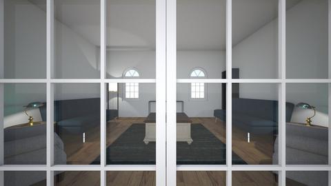 symmetrical - Living room  - by 1082220