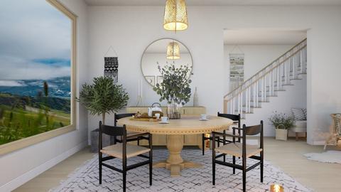 scandinavian dining - Dining room  - by elia07