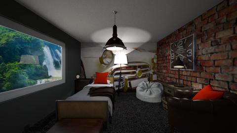 Rustic Bedroom 2 - Rustic - Bedroom  - by Riordan simpson
