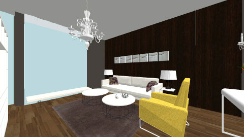 Living room and Kitchen - Modern - Living room - by sunny00