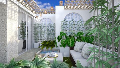 Courtyard 601 - Modern - Garden  - by Claudia Correia