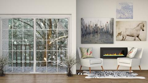 1st contest_wintery day - Living room  - by Ashley_Daigle