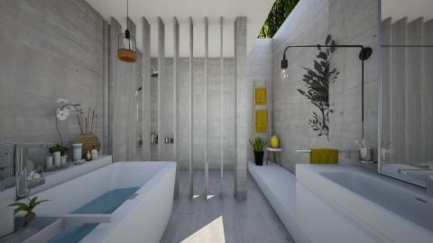 Concrete Bathroom - Bathroom  - by StienAerts