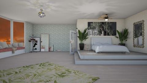 My example for contest - Modern - Bedroom  - by Pheebs09