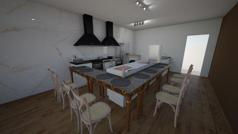 Gata Flora Sushibar Deli - Modern - Dining room  - by clauu741