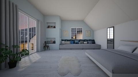 loft bedroom - Bedroom  - by freewillie