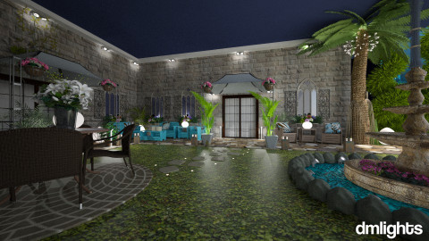 Villa2 - Rustic - Garden  - by DMLights-user-981898