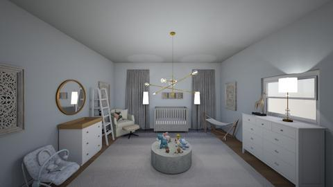 Newborn nursery - Modern - Kids room  - by BunnyJun