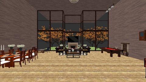 Vintage Venice - Vintage - Living room  - by snwildrose