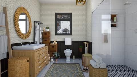 Eclectic bathroom - Eclectic - Bathroom  - by martinabb