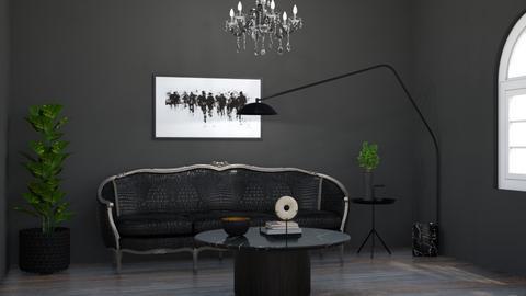 Black - Living room - by Jacqueline De la Guia
