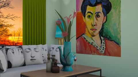 matisse - Living room - by Noa Sardoz