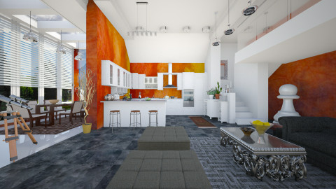 sunset  - Modern - Kitchen  - by Ida Dzanovic